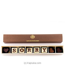 `Sorry` 8 Piece Chocolate Box(Java ) By Java at Kapruka Online for specialGifts