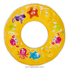 Inflatable Children Swim Ring- Yellow By Brightmind at Kapruka Online for specialGifts