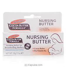 Palmer`s Cocoa Butter Formula Nursing Butter Cream 30g at Kapruka Online