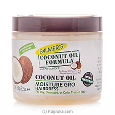 Palmer`s Coconut Oil Moisture Gro Hairdress 150g By Palmers at Kapruka Online for specialGifts