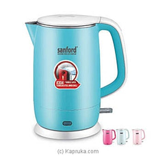 Sanford Electric Kettle- 1.5L   (SF3353EK) By Sanford at Kapruka Online forspecialGifts