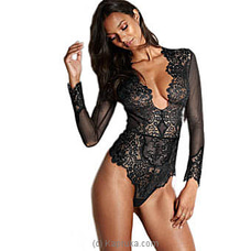 Sexy Teddy Lingerie-Blackat Kapruka Online for specialGifts