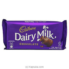 Cadbury Dairy Milk Chocolate 165g at Kapruka Online