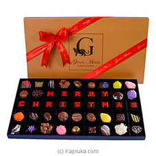 ` Merry Christmas` (Red) 45 Piece Box Of Chocolates(GMC) By GMC at Kapruka Online for specialGifts