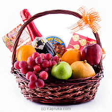 Festival Celebration Fruits And Goodies Basketat Kapruka Online for specialGifts
