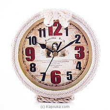 Stylish Vintage Clock By HABITAT ACCENT at Kapruka Online for specialGifts