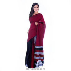 Handloom Cotton Saree By Kamba at Kapruka Online for specialGifts