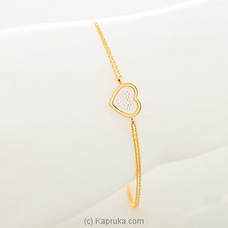 18kt Yellow Gold Bracelet By DIAMOND DREAMS at Kapruka Online for specialGifts