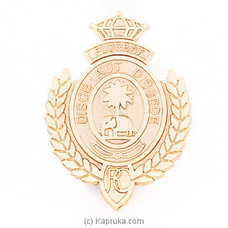Royal Crest Metal Badge By Royal College at Kapruka Online for specialGifts