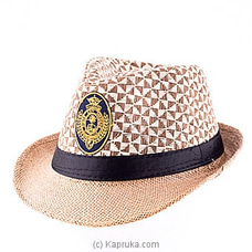 Jackson Hat  Embroidery (Beige) By Royal College at Kapruka Online for specialGifts
