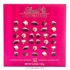 Lindor Mini Pralines -155g By LINDT at Kapruka Online for specialGifts