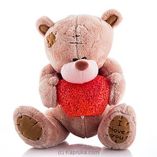 Cuddles Teddy With Lightning Heat By Huggables at Kapruka Online for specialGifts