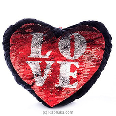 Filled With Love Glittery Pillow By Huggables at Kapruka Online for specialGifts