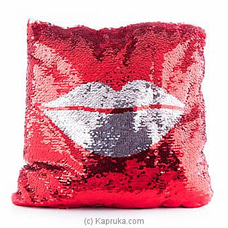 Kiss Me Glittery Pillow By Huggables at Kapruka Online for specialGifts