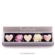 Rose Choco Hearts Box By Sweet Buds at Kapruka Online for specialGifts