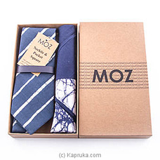 Batik Tie Gift Pack (Blue) at Kapruka Online
