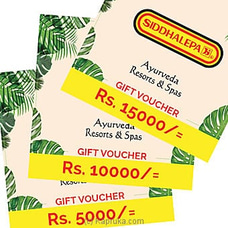 Siddahalepa Ayurveda Resorts and Spas Gift Voucher-at Kapruka Online for specialGifts