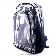 Clear Backpack at Kapruka Online