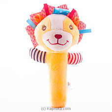 Squeeze Me Hand Rattle - Lion at Kapruka Online