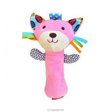 Squeeze Me Hand Rattle - Cat at Kapruka Online