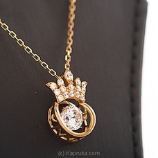 Crown Crystal Pendant With Necklace By Swarovski at Kapruka Online forspecialGifts