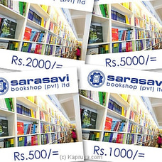 Sarasavi Bookshop Gift Vouchers By Sarasavi at Kapruka Online for specialGifts