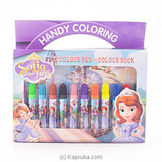 Sofia The First Coloring Pen Box By Brightmind at Kapruka Online for specialGifts