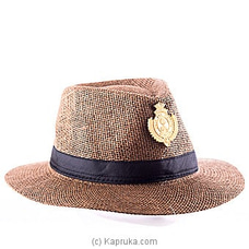 Jackson Hat With Royal Crest Metal Badge By Royal College at Kapruka Online for specialGifts