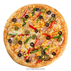 Garden Fresh Delight Veg Pizza By DOMINOS at Kapruka Online for specialGifts