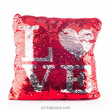 Love Cuddles Glittery Pillow By Huggables at Kapruka Online for specialGifts