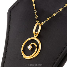 22kt Gold Pendant Set With Cubic Zirconia-P319/1at Kapruka Online for specialGifts