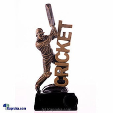 Cricket Batsman Table Ornament By HABITAT ACCENT at Kapruka Online for specialGifts
