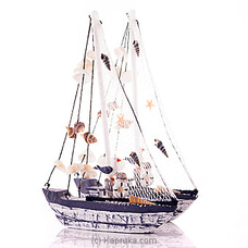Nautical Fishing Net Sailing Boat- 2 Piece Set By HABITAT ACCENT at Kapruka Online for specialGifts