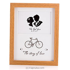 The Story Of Love Picture Frame By HABITAT ACCENT at Kapruka Online forspecialGifts
