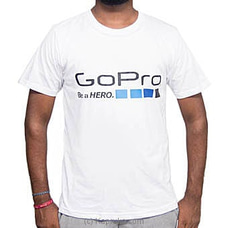 GoPro White T-Shirt - By GoPro at Kapruka Online for specialGifts