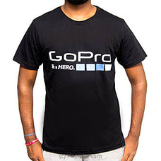 Go Pro Black T-Shirt -at Kapruka Online for specialGifts
