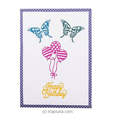 Happy Bday Handmade Greeting Card at Kapruka Online