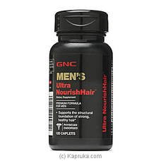 GNC Men`s Ultra Nourish Hair By GNC at Kapruka Online for specialGifts