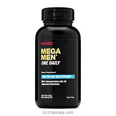 GNC Mega Men One Daily By GNC at Kapruka Online for specialGifts