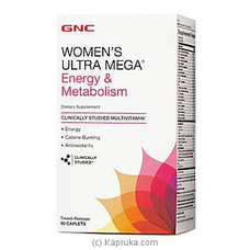 GNC Womens Ultra Mega Energy Metabolism By GNC at Kapruka Online for specialGifts
