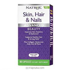 Natrol Skin,Hair And Nails By GNC at Kapruka Online for specialGifts