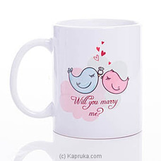 Will You Marry Me Mug By HABITAT ACCENT at Kapruka Online for specialGifts
