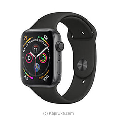 Apple Watch Series 4 44mm Space Gray Aluminium Case With Black Sport Band SMARTWATCH at Kapruka Online