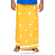 Yellow Batik Sarong By MOZ at Kapruka Online for specialGifts