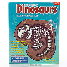 Dig And Discover Dinosaur Excavation Kit By Brightmind at Kapruka Online for specialGifts
