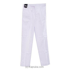 Royal College White Uniform Trouser (TWT) By Royal College at Kapruka Online for specialGifts