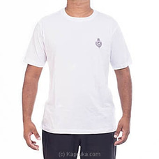 Royal College Plain T-Shirt With Crest By Royal College at Kapruka Online for specialGifts