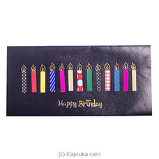 Happy Birthday Handmade Greeting Cardat Kapruka Online for specialGifts