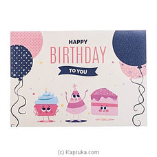 Happy Birthday Handmade Greeting Card at Kapruka Online