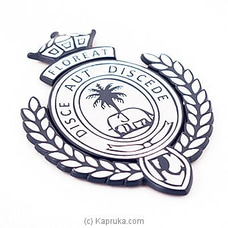 Royal College Car Badge - Dark Blue at Kapruka Online
